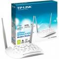 Roteador TP-Link + Modem ADSL TD-W8961ND300Mbps